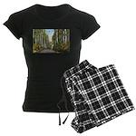 Echo Trail Ely Minnesota.jpg Women's Dark Pajamas