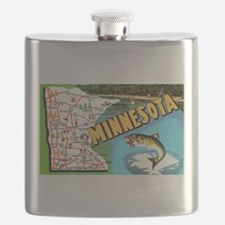 Cute Walleye Flask