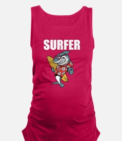 Surfer Maternity Tank Top