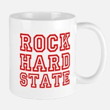 ROCK HARD STATE Mugs