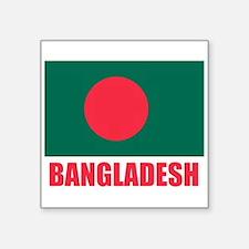 BANGLADESH FLAG T SHIRT Sticker
