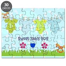 Sweet Baby Boy Puzzle