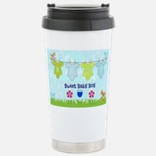 Sweet Baby Boy Stainless Steel Travel Mug