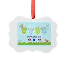 Sweet Baby Boy Ornament