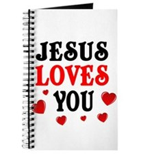 Jesus loves you -Hearts Journal