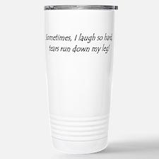Funny I run Travel Mug