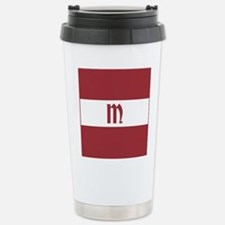 Team Latvia Monogram Travel Mug