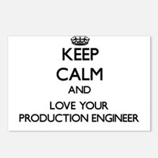 Keep Calm and Love your Production Engineer Postca