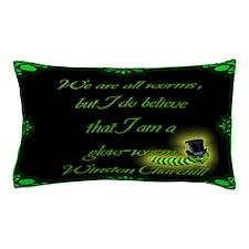 Winston Churchillyard sign.png Pillow Case