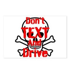 Dont Text and Drive Postcards (Package of 8)