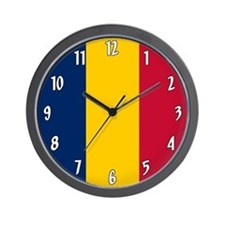 Flag of Chad Wall Clock
