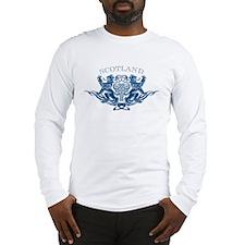 TRIBAL SCOTTISH Long Sleeve T-Shirt