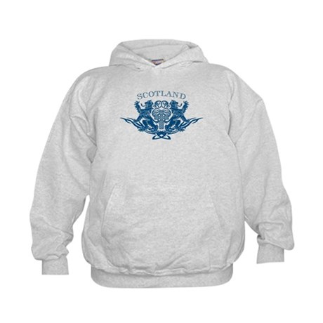 TRIBAL SCOTTISH Kids Hoodie