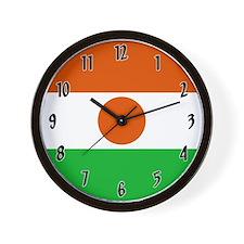 Flag of Niger Wall Clock