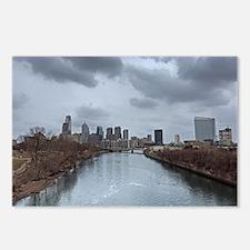 Philadelphia Skyline Postcards (Package of 8)