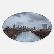 Philadelphia Skyline Decal