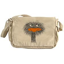 ostrich design3 Messenger Bag