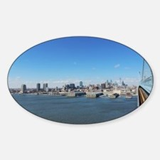 Philadelphia Skyline Decal