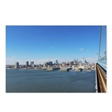 Philadelphia Skyline Postcards (Package of 8)
