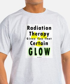 8 x 10 Radiation Therapy Glow T-Shirt