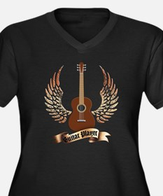 Western Classic Guitar player Plus Size T-Shirt