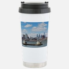 Philadelphia Skyline Stainless Steel Travel Mug