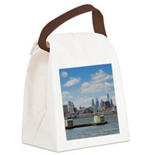 Philadelphia Skyline Canvas Lunch Bag