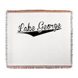Lake george Woven Blankets