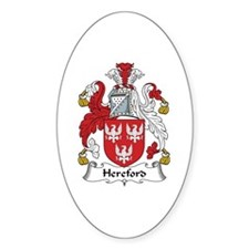 Hereford Oval Decal