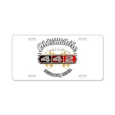 HOG. Aluminum License Plate