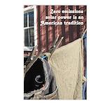 Solar Power Clothesline Postcards