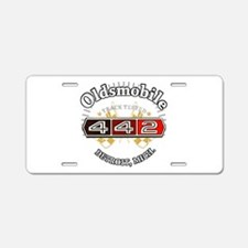 Olds 442 Muscle Aluminum License Plate
