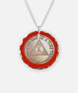 AA One Year Chip Necklace