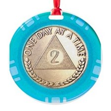AA 2 Year Chip Alternative Ornament