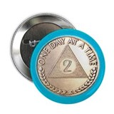 Alcoholics anonymous Buttons