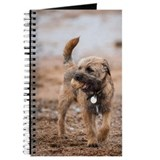Border terrier Journals & Spiral Notebooks