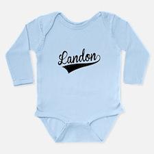 Landon, Retro, Body Suit
