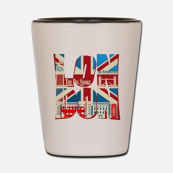 LONDON Shot Glass