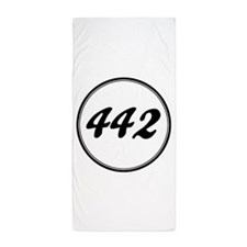 Olds 442 Racing Beach Towel