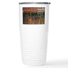 Kansas Fall Reflection' Travel Coffee Mug