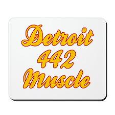 Detroit 442 Muscle Mousepad