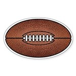 Football Oval Sticker
