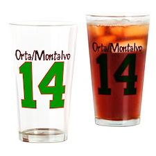 Orta/Montalvo Reunion 2014 Drinking Glass