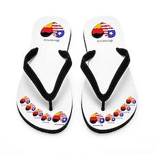 Cute America Flip Flops