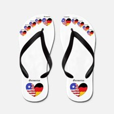 Cute German american Flip Flops