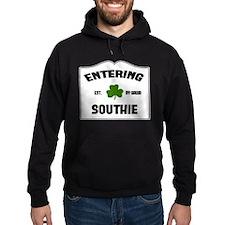 Entering Southie Hoodie