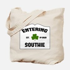 Entering Southie Tote Bag