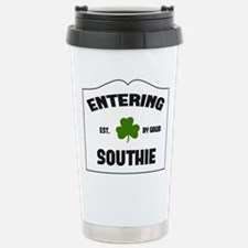 Entering Southie Stainless Steel Travel Mug