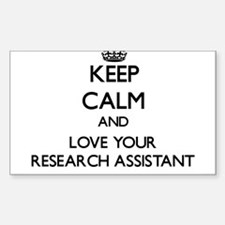 Keep Calm and Love your Research Assistant Decal