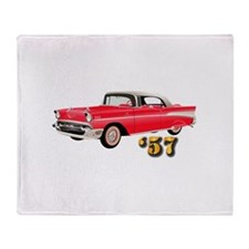'57 Chevy - Hot Wheels Throw Blanket